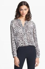 Joie and39Gudeliaand39 Print Silk Top at Nordstrom