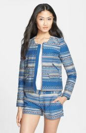 Joie and39Lindraand39 Crop Multistripe Jacket at Nordstrom