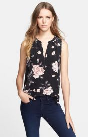 Joie and39Lirienneand39 Floral Print Silk Top at Nordstrom