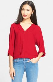Joie and39Marruand39 Semi-Sheer Silk Blouse at Nordstrom