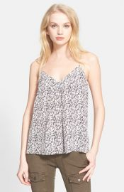 Joie and39Nahlahand39 Print Silk Camisole at Nordstrom