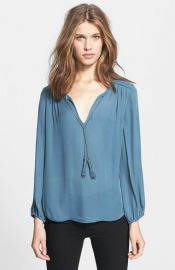 Joie and39Odeletteand39 Silk Shirt at Nordstrom