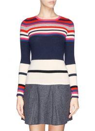 Jolanta Striped Cashmere Sweater by Diane von Furstenberg at Lane Crawford