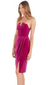 Jolie Strapless Sheath Dress by Black Halo at Black Halo