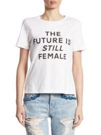 Jonathan Simkhai - The Future Is Still Female Pima Cotton Tee at Saks Fifth Avenue