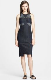 Jonathan Simkhai Bubble Jacquard Sheath Dress at Nordstrom