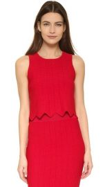 Jonathan Simkhai Pointelle Scallop Tank at Shopbop