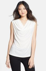 Jones New York and39Pennyand39 Cowl Neck Shell at Nordstrom