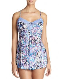 Jonquil - Floral-Print Chemise at Saks Fifth Avenue