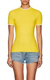 JoosTricot Cotton-Blend Short-Sleeve Sweater at Barneys