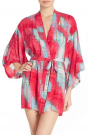 Josie Print Happi Coat Robe at Nordstrom