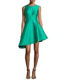 Jovani Sleeveless Asymmetric Cocktail Dress at Neiman Marcus