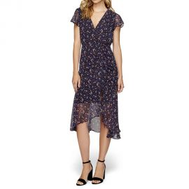 Jubilee Floral Ruched Dress at Sam Edelman