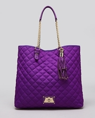 Juicy Couture Tote - Nylon Anja in purple at Bloomingdales