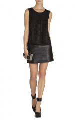 Jules Cowl Back Embellished Top at Bcbgmaxazria