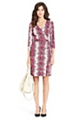 Julian Dress in Pink at DVF