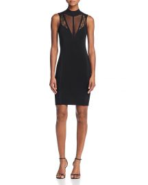 Julie Inset Body-Con Dress by Guess at Bloomingdales