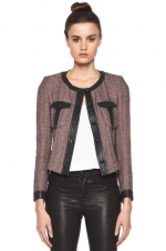 Juliettes tweed jacket at Forward by Elyse Walker