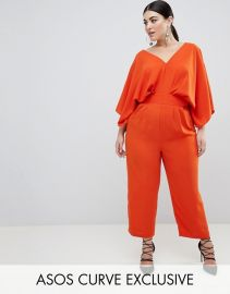 Jumpsuit With Kimono Sleeve And Peg Leg by Asos at Asos