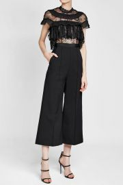 Jumpsuit with Lace at Stylebop