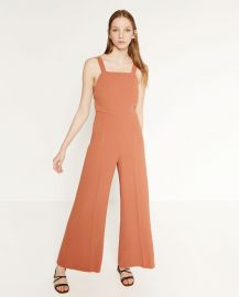 Jumpsuit with side print at Zara