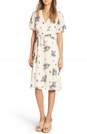 June   Hudson Floral Print Wrap Dress at Nordstrom