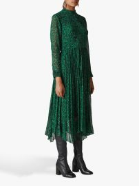 Jungle Cat Pleated Dress by Whistles at Whistles