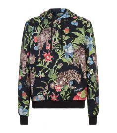 Jungle print hoodie at Harrods