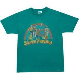 Junk Food Clothing Super Friends Tshirt at 80s Tees