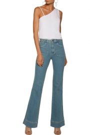 Juno mid-rise bootcut jeans at The Outnet