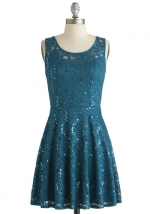 Just Dazzle Me Dress at Modcloth
