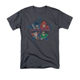 Justice Heros Tshirt at Amazon
