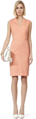 Justine tor dress at Reiss