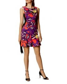 KAREN MILLEN Floral-Print Sheath Dress at Bloomingdales