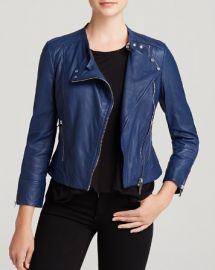 KAREN MILLEN Biker Jacket - Bloomingdaleand039s Exclusive at Bloomingdales