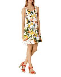 KAREN MILLEN Bird Of Paradise Print Dress at Bloomingdales