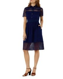 KAREN MILLEN Broderie Dress at Bloomingdales