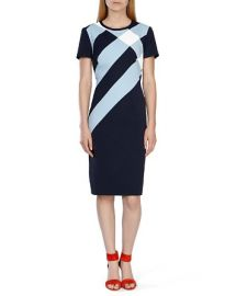KAREN MILLEN Check Print Dress at Bloomingdales