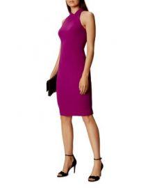 KAREN MILLEN Cutout Pencil Dress at Bloomingdales