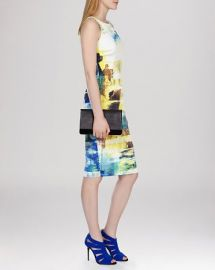 KAREN MILLEN Dress - Mineral Print Signature Stretch at Bloomingdales