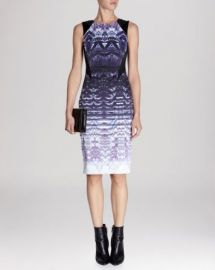 KAREN MILLEN Dress - Ombr Lace Print Signature Stretch at Bloomingdales