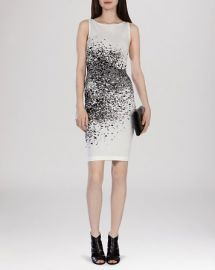 KAREN MILLEN Dress - Pixel Jacquard Knit at Bloomingdales