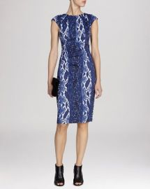 KAREN MILLEN Dress - Snake Print Signature Stretch at Bloomingdales