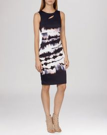 KAREN MILLEN Dress - Tie-Dye Signature Stretch at Bloomingdales