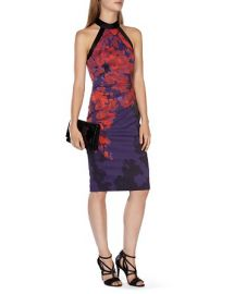 KAREN MILLEN Floral Print Dress at Bloomingdales