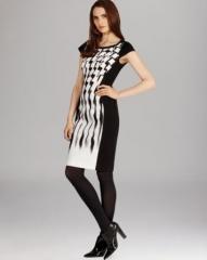 KAREN MILLEN Jersey Print Dress at Bloomingdales