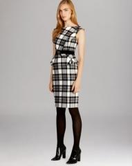 KAREN MILLEN Statement Fabric Collection Dress at Bloomingdales