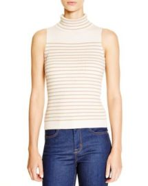 KAREN MILLEN Striped Rib Knit Top - 100  Bloomingdale  039 s Exclusive at Bloomingdales