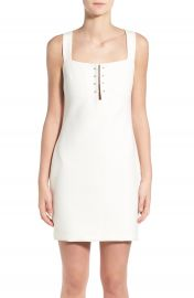 KENDALL   KYLIE Pierced Detail Sheath Dress at Nordstrom