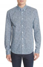 KENZO Print Sport Shirt at Nordstrom